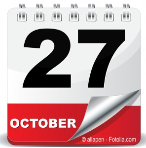 27 OCTOBER ICON