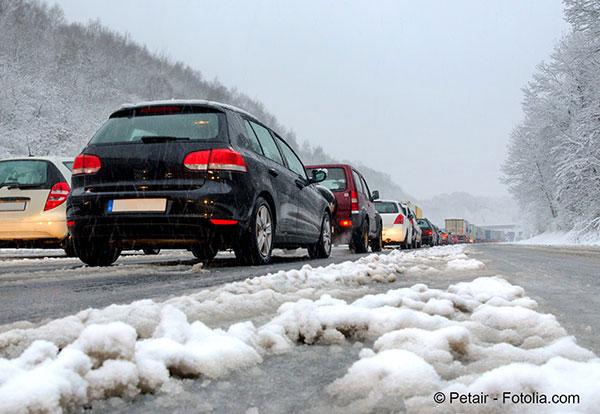 Photo of France, neige, autoroute… j'ai des doutes