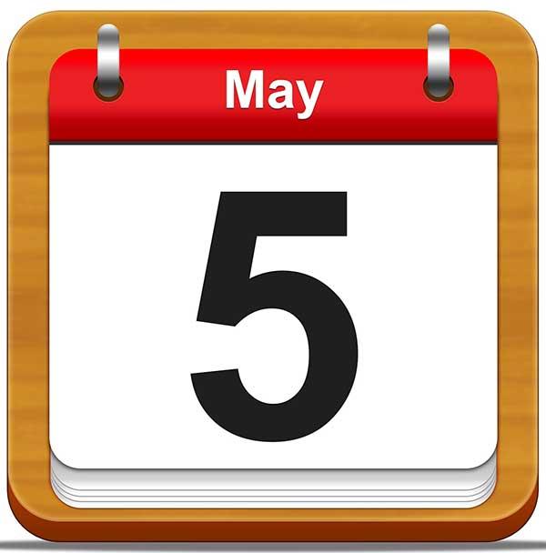 Éphéméride : ça s'est passé un 5 mai