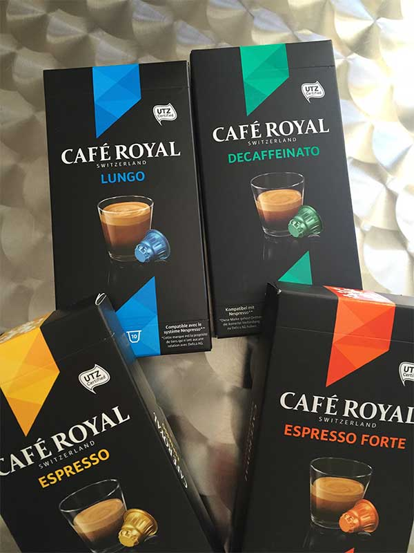 Cafe Royal Pour Les Machines