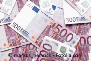 Fnfhundert Euro Scheine