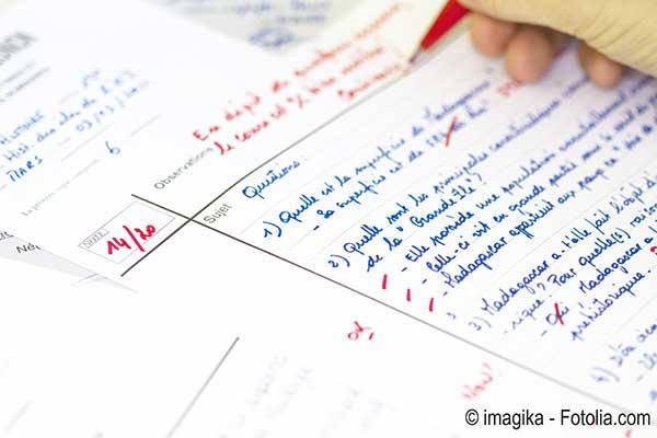 Photo of Évolution constante de la manière de noter à l'école