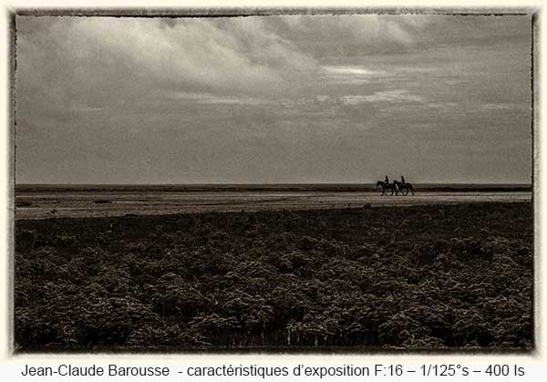 Jean-Claude Barousse - caractéristiques d'exposition F:16 – 1/125°s – 400 Is