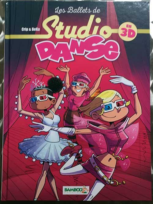 Photo of Les Ballets de Studio danse… en 3D une bd publiée par Bamboo