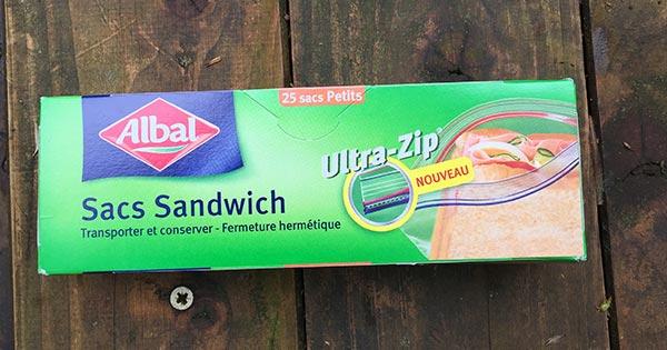 Photo of Sacs Sandwich proposé par Albal