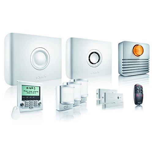 syst me d 39 alarme sans fil somfy protexiom 600 gsm zones d 39 alarme sans fil 3 notre si cle. Black Bedroom Furniture Sets. Home Design Ideas