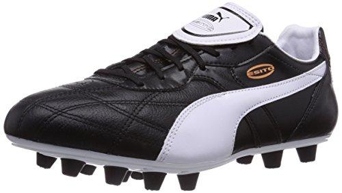 check out 4664f 029d7 Puma Esito Classico Fg, Chaussures de Football Compétition homme, Noir  (Black White Bronze), 42 EU