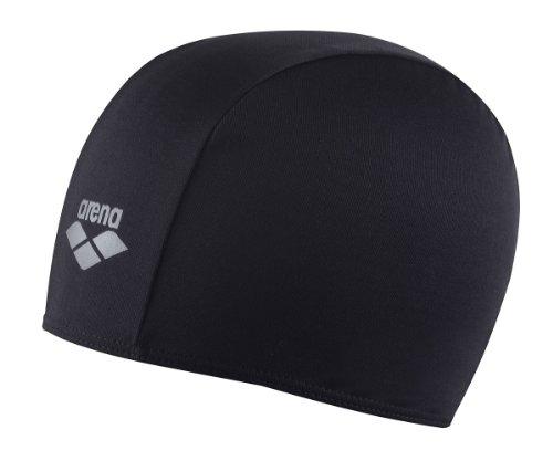 Arena bonnet de natation mixte polyester noir notre - Bonnet de piscine original ...