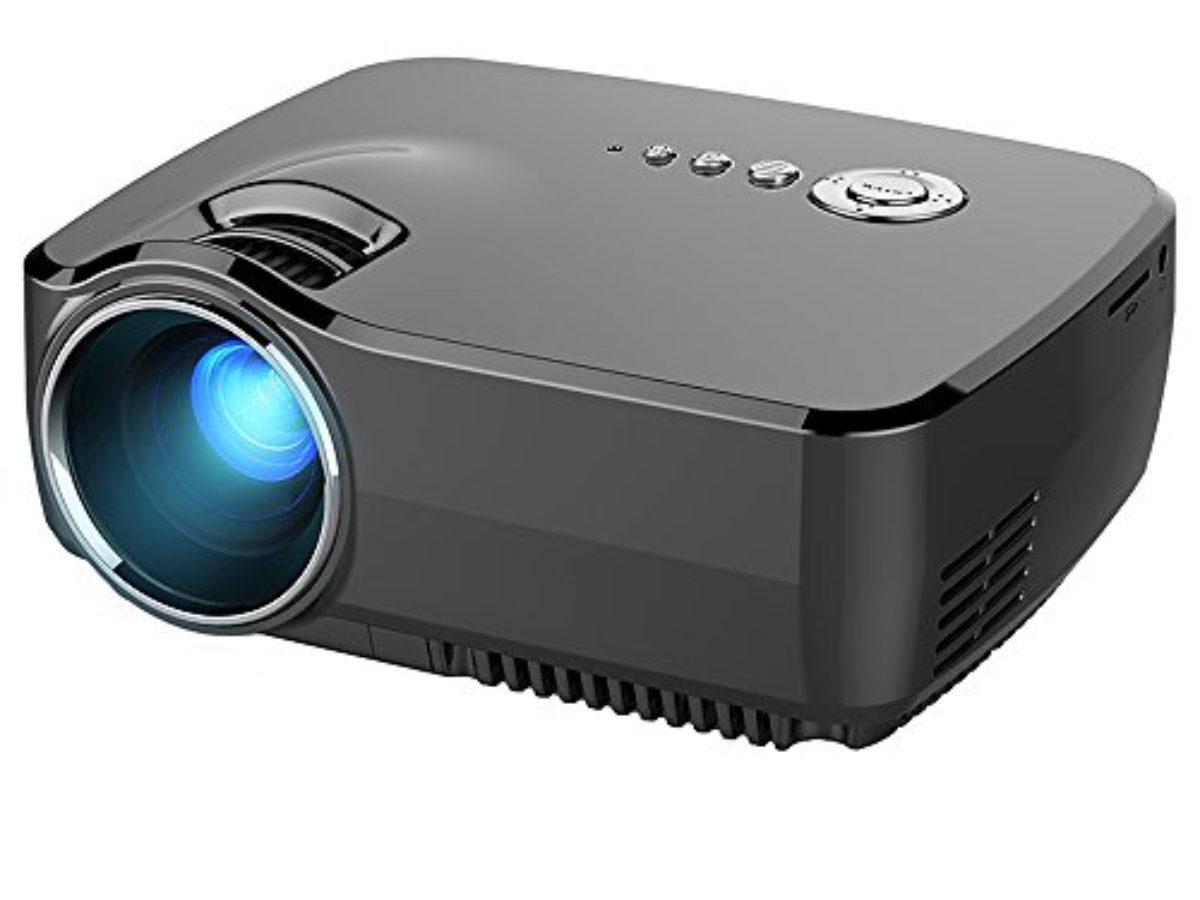 Videoprojecteur Avec Tuner Tv vidéoprojecteur led, honyi 800 * 480 pixels 1200 lumens