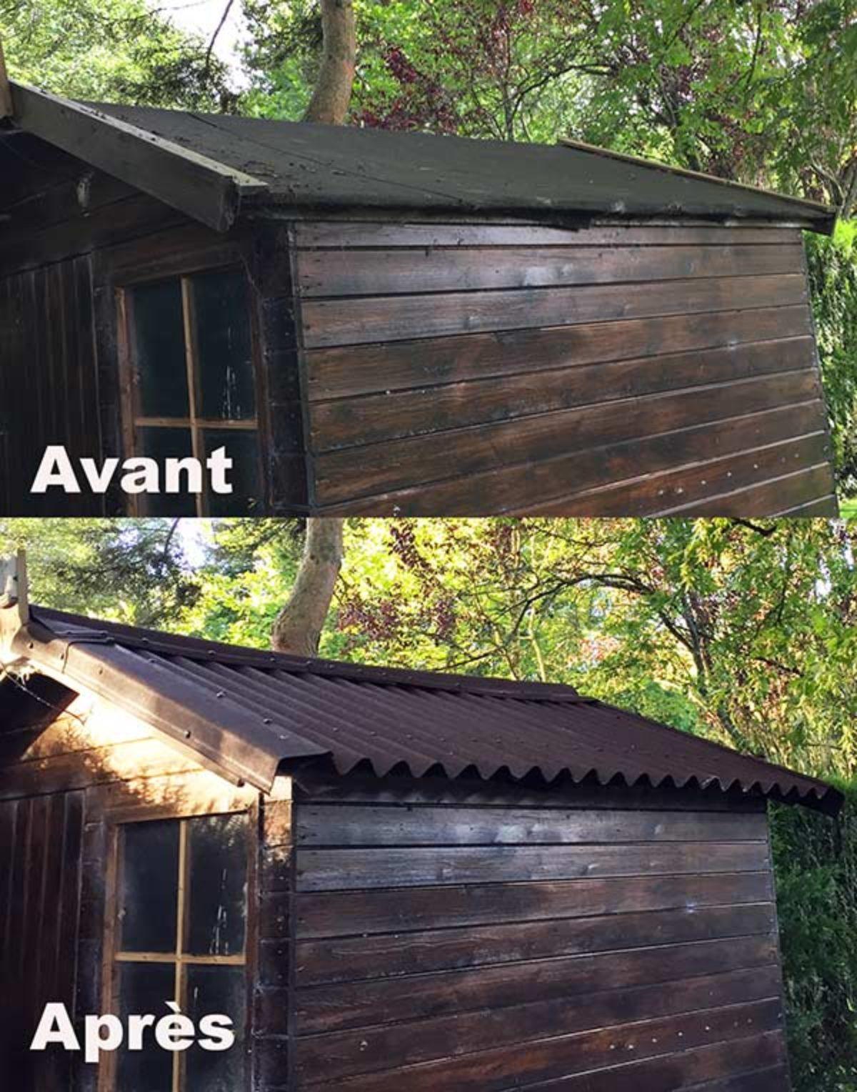 Refaire Un Toit D Abri De Jardin couverture de toit easyline proposée par onduline - notre-siècle