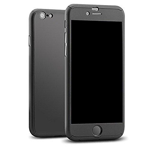 coque rigide iphone 7 4 7 pouces 360 degres protection integral etui ultra mince avec verre. Black Bedroom Furniture Sets. Home Design Ideas