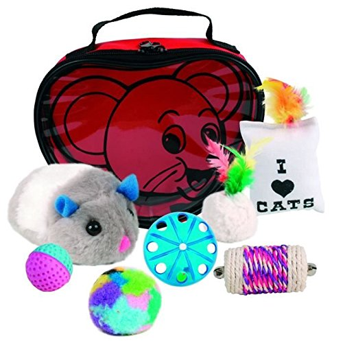 trixie 4538 jeu pour animaux jouets pour chat dans un sac en forme de coeur notre si cle. Black Bedroom Furniture Sets. Home Design Ideas