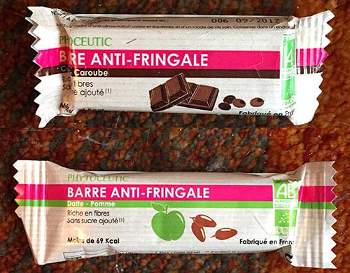 Photo of Barre anti-fringale Datte/Pomme ou Cacao de Phytoceutic