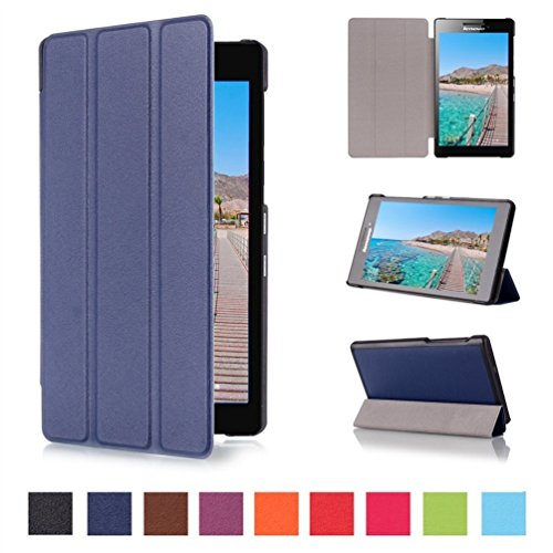 coque lenovo tab2 a7 10 style de smart cover case etui. Black Bedroom Furniture Sets. Home Design Ideas