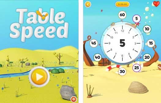 Table speed l 39 appli ludique qui apprend apprendre les - Apprendre les tables de multiplication de facon ludique ...