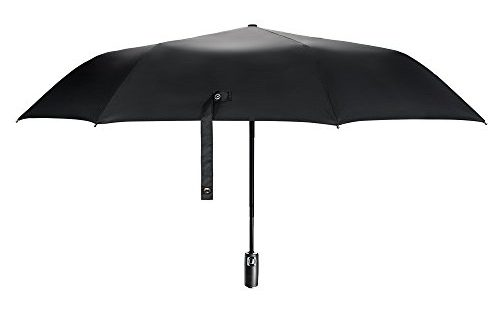 e prance parapluie pliant automatique parapluie noir classique de voyage pliable r sistant au. Black Bedroom Furniture Sets. Home Design Ideas