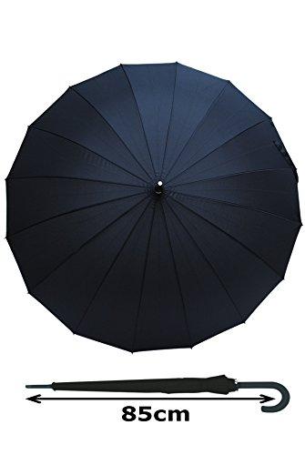 parapluie canne extra solide r sistant au vent automatique hautement technique pour. Black Bedroom Furniture Sets. Home Design Ideas
