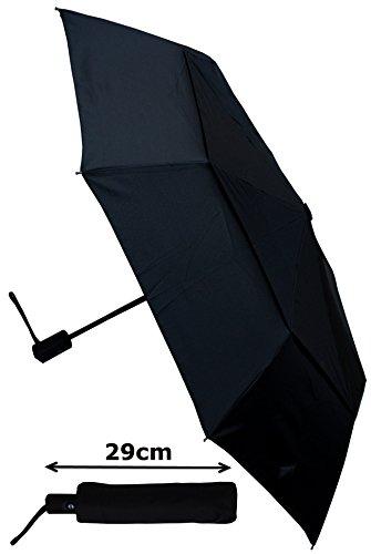parapluie pliant solide r sistant au vent ouverture et fermeture automatique double. Black Bedroom Furniture Sets. Home Design Ideas