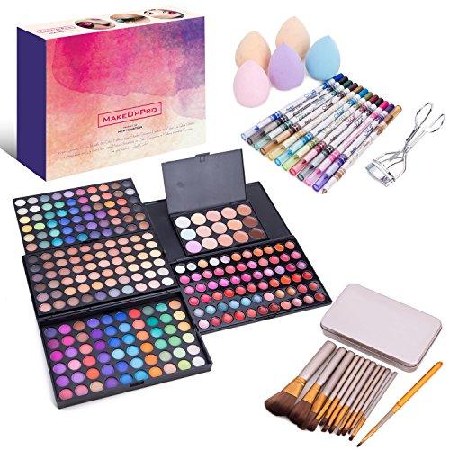 makeuppro un kit de beaut complet comprenant une palette de 180 ombres paupi res iris es. Black Bedroom Furniture Sets. Home Design Ideas