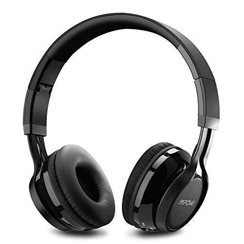 mpow casque bluetooth sans fil casque audio lecteur mp3 casque audio sans fil avec micro. Black Bedroom Furniture Sets. Home Design Ideas