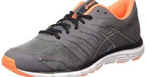 super popular a0d2a d2bb3 ASICS Gel-zaraca 4, Chaussures de Running Compétition homme – Noir  (carbon silver hot Orange 9793), 44 EU
