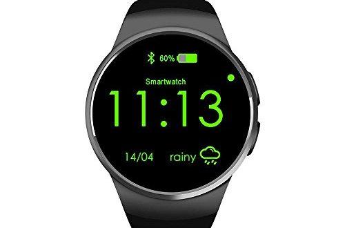 kobwa montres connect es kw18 all in 1 bluetooth smart watch phones smartwatches sim poignet. Black Bedroom Furniture Sets. Home Design Ideas