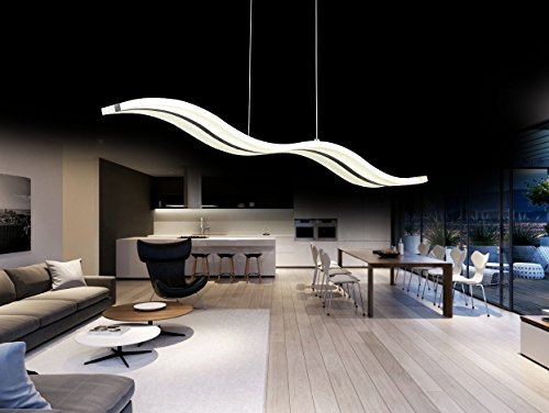 Suspension lustre create for life lustre led design moderne pendentif de lumi re led suspendus - Lumiere salle a manger ...