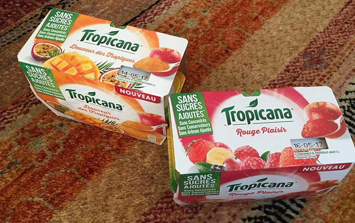Photo of Le nouveau dessert de fruits de Tropicana