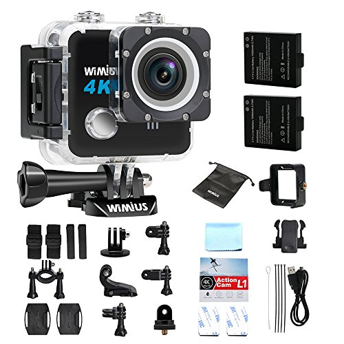 camera sport 4k wimius l1 action camera embarqu e wifi hd 20mp cam ra de sport etanche 30m fpv. Black Bedroom Furniture Sets. Home Design Ideas