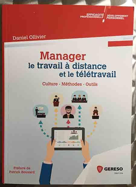 Photo of Manager – Le travail à distance et le télétravail de Daniel Ollivier chez Gereso
