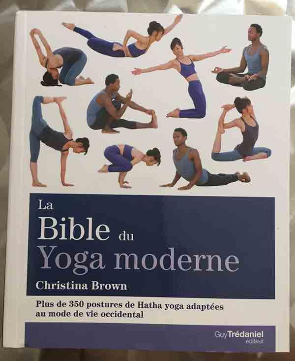 Photo of La Bible du Yoga moderne de Christina Brown chez Guy Trédaniel