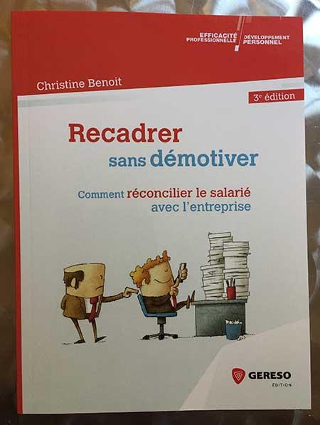 Recadrer Sans Démotiver Par Christine Benoit Chez Gereso