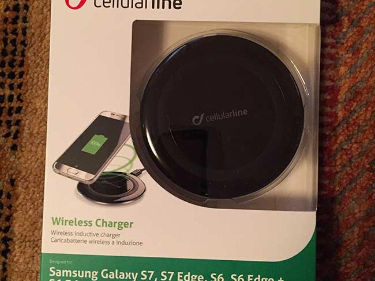 Chargeur sans fil proposé par Cellularline Notre Siècle