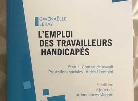 L Emploi Des Travailleurs Handicapes De Gwenaelle Leray Chez Gereso