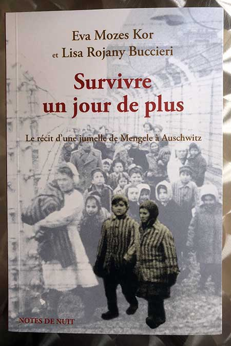 Photo of Survivre un jour de plus de Eva Mozes Kors et Lisa Rojany Buccieri chez Notes de Nuit