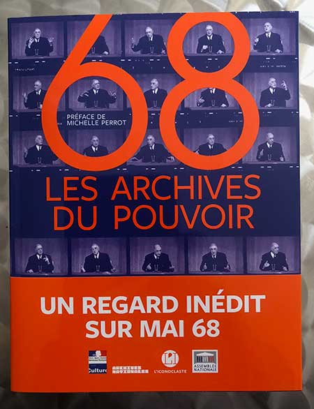 Photo of 68 les archives du pouvoir coéditées par L'Iconoclaste et les Archives nationales