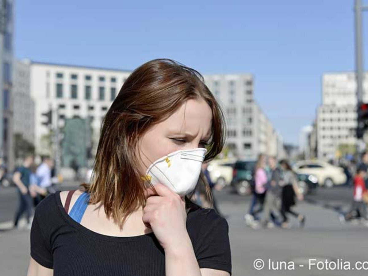 masque anti pollution en papier