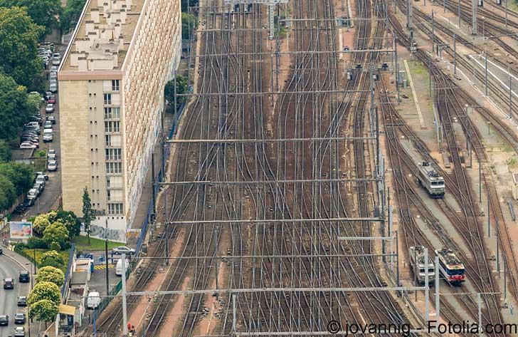 Photo de Pagaille à la Gare Montparnasse et responsabilités