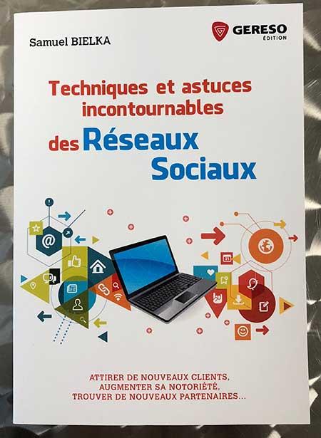 Photo of Techniques et astuces incontournables des réseaux sociaux de Samuel Bielka chez Gereso