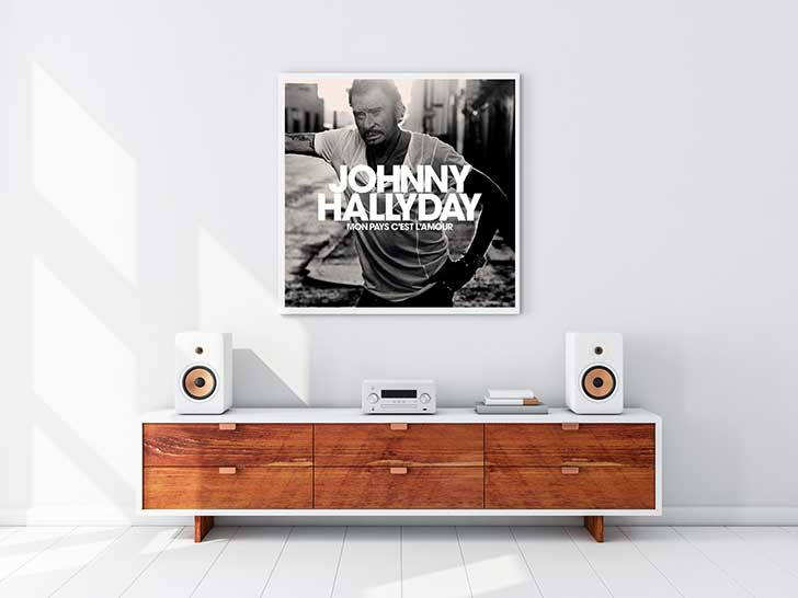 Photo of Mon pays c'est l'amour: Johnny Hallyday