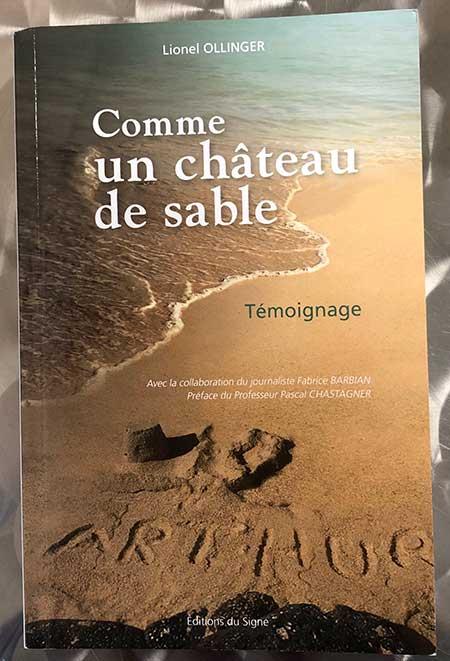 Photo of Comme un château de sable de Lionel Ollinger chez Éditions du Signe