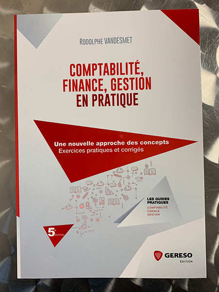 Photo of Comptabilité, finance, gestion en pratique par Rodolphe Vandesmet chez Gereso
