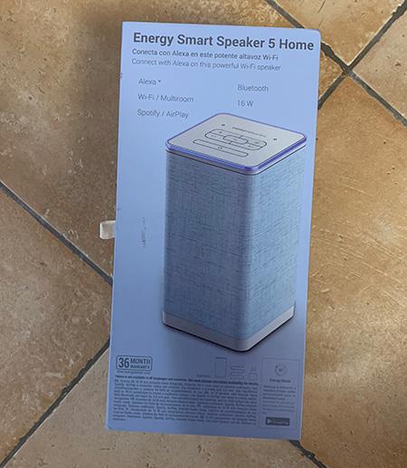 Photo of Energy Smart Speaker 5 Home intégrant Amazon Alexa