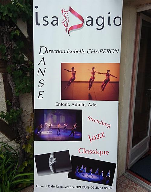 Photo of Au centre d'Orléans, ne manquez pas l'école de danse Isadagio