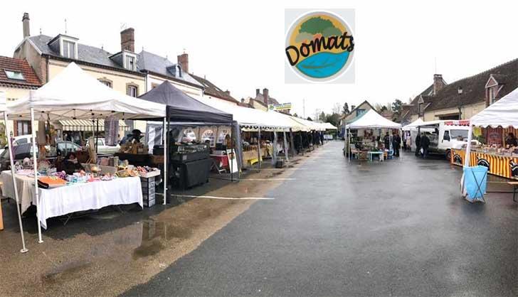 Photo of Le 1er marché de printemps de Domats