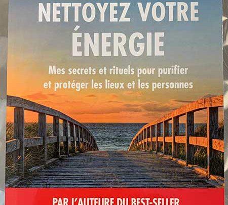 Photo of Nettoyez votre énergie de Lila Rhiyourdhi chez Leduc.s Pratique
