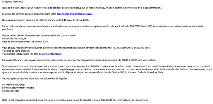 Photo of Attention nouvelle attaque phishing