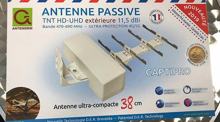 Photo of Captipro : Antenne TNT passive d'extérieur proposée par ANTENGRIN