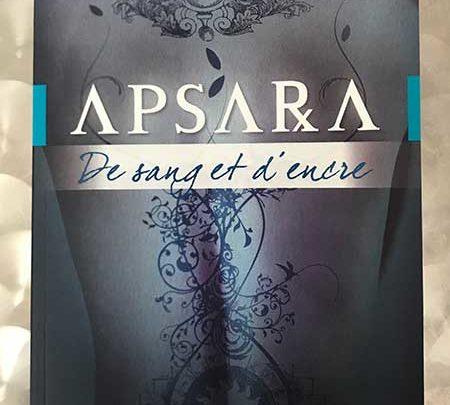 Photo of APSARA de sang et d'encre de Célia Quero chez Éditions Exergue