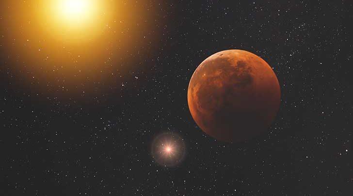 Photo de La planète Mars a rendez-vous à Orléans